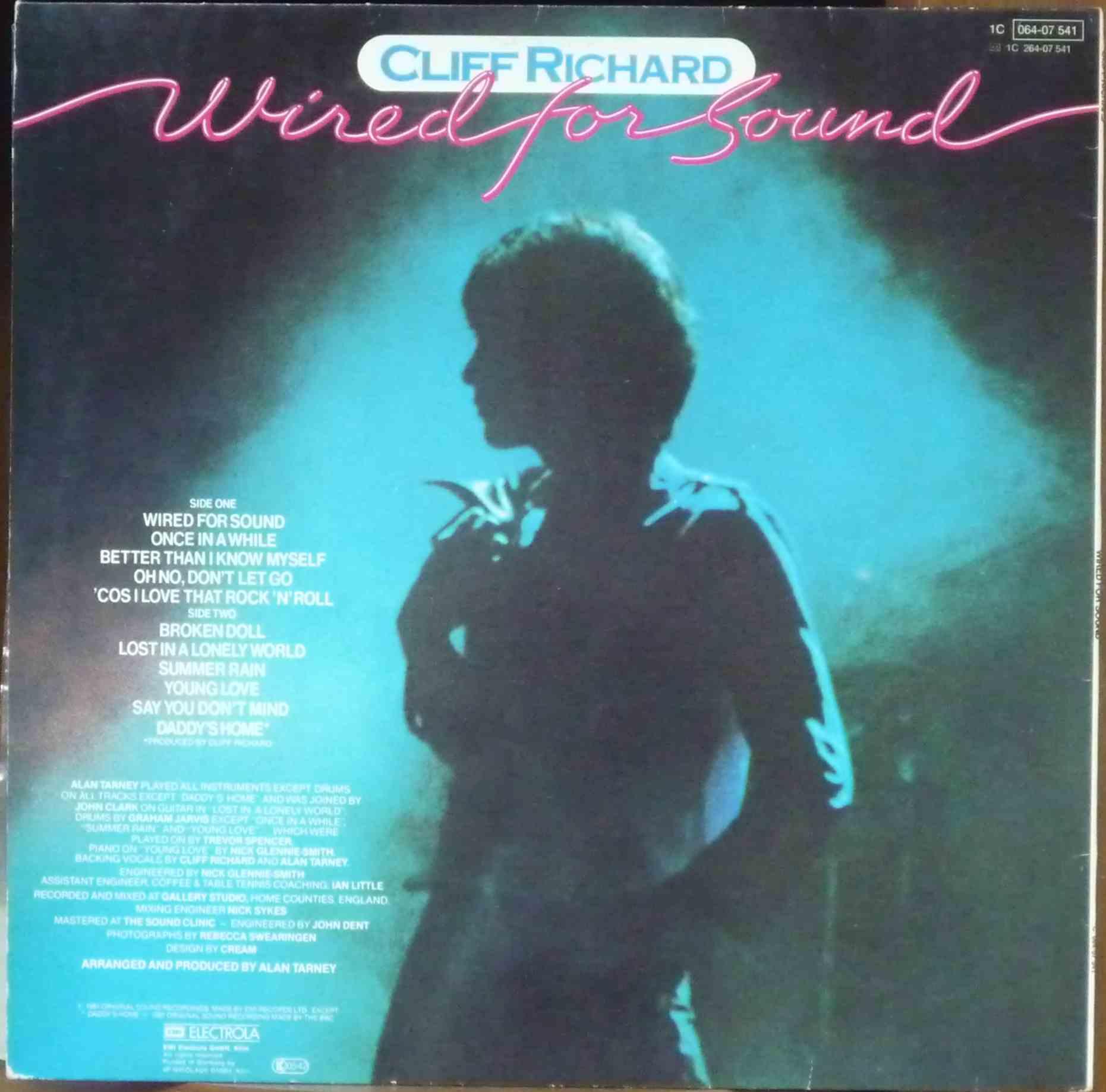 CLIFF RICHARD - Wired for Sound - купить в интернет-магазине ...